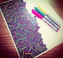 Line Doodles -- $20 by Trisha Vaz