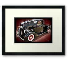 '37 Ford Pick Up Framed Print
