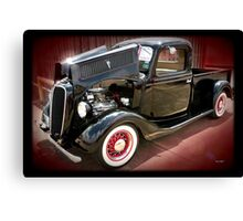 '37 Ford Pick Up Canvas Print