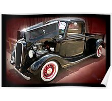 '37 Ford Pick Up Poster