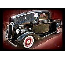 '37 Ford Pick Up Photographic Print
