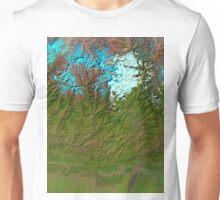 Mount Everest Nepal Satellite Image Unisex T-Shirt