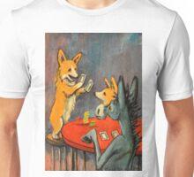 Donkey~Pembroke Corgi~Dog~Win~Cripple Creek~Colorado Unisex T-Shirt