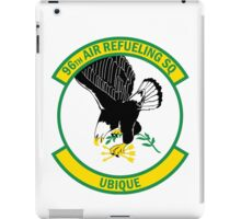 96th Air Refueling Squadron - Ubique - Everywhere iPad Case/Skin