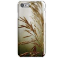 wild grasses 8 iPhone Case/Skin