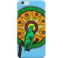 Humming Bird Mandala iPhone Case/Skin