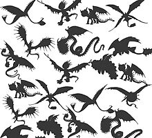 How to Train Your Dragon Duvet  by thisisbrooke
