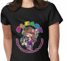 PLS NO. Womens Fitted T-Shirt