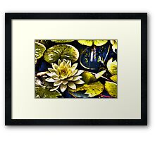 Surreal Lilly Framed Print