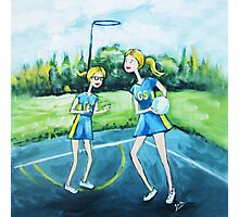 Saturday Netball Photographic Print