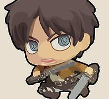 Eren Jaeger: Attack on Titan (With Name) by Jelly Gem