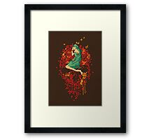 Roses are red, but why you look so blue Framed Print