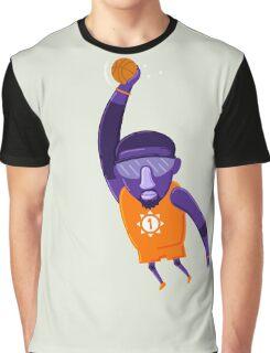 Amare Stoudemire STAT NBAlien Graphic T-Shirt