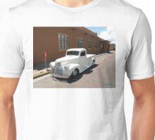 Camión Blanco en Santa Fe Unisex T-Shirt