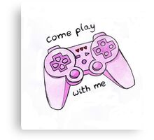 come play with me Metal Print