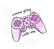 come play with me Photographic Print