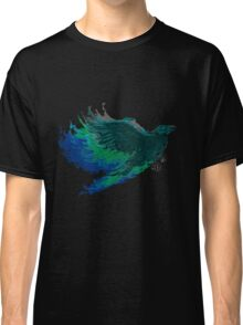 Psychedelic raven Classic T-Shirt