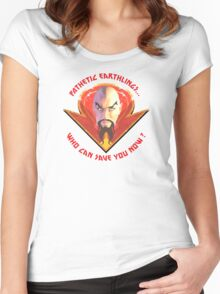 Ming the Merciless - Pathetic Earthlings Women's Fitted Scoop T-Shirt