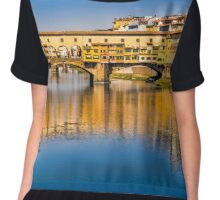 Reflections in Florence Chiffon Top