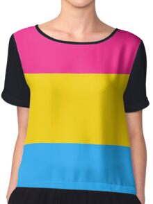Pansexual Flag Chiffon Top