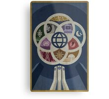 EPCOT Center iPhone and TShirt Metal Print