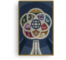 EPCOT Center iPhone and TShirt Canvas Print