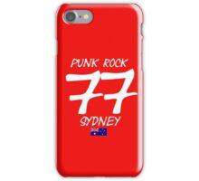 Punk Rock Sydney 1977 iPhone Case/Skin