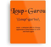 Loup Garou Metal Print
