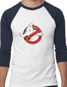 Funny Ghostbusters Men's Baseball ¾ T-Shirt