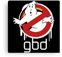 Funny Ghostbusters Canvas Print