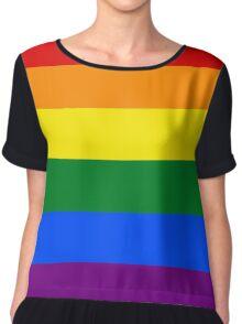 Gay/LGBT Flag Chiffon Top