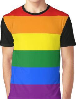 Gay/LGBT Flag Graphic T-Shirt