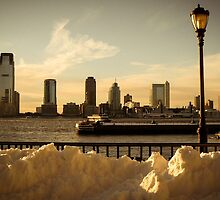 Winter in Manhattan by petitcailloux