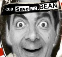 GOD SAVE MR. BEAN Sticker