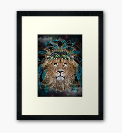 Fight For What You Love Framed Print