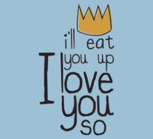 I'll Eat You Up, I Love You One Piece - Short Sleeve
