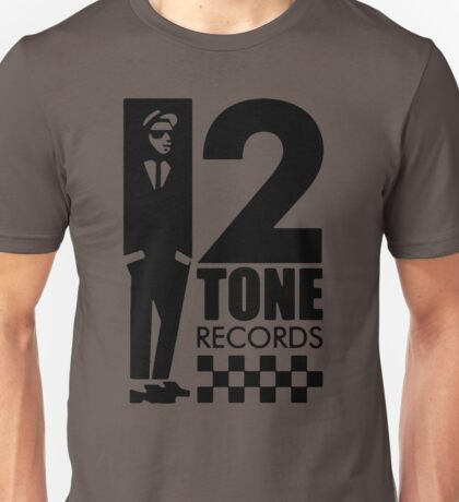 2 Tone Records T shirt ska madness specials Unisex T-Shirt