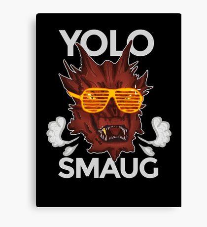Yolo SMAUG! Canvas Print