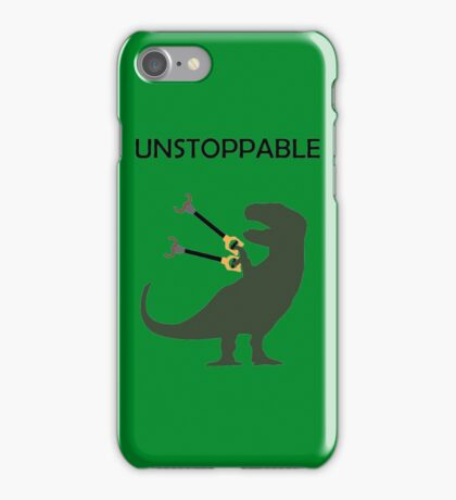 Unstoppable Dinosaur iPhone Case/Skin
