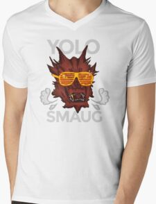 Yolo SMAUG! Mens V-Neck T-Shirt