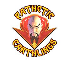 Ming the Merciless - Pathetic Earthlings Variant Two Photographic Print