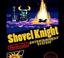 Shovel Knight NES by Pr0NinjaSloth