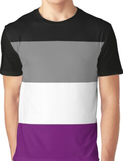 Asexual Flag Graphic T-Shirt