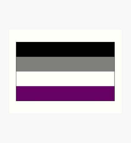 Asexual Flag Art Print