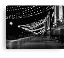 Night Lights on the Boardwalk   ^ Canvas Print