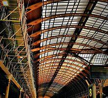 Paddington Station, London by Barbara  Brown