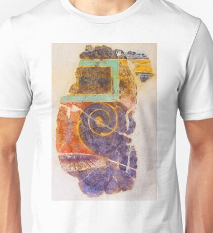 Antique drawing on the ancient wall, Rome, Italy Unisex T-Shirt