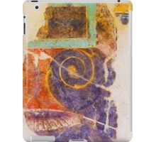 Antique drawing on the ancient wall, Rome, Italy iPad Case/Skin