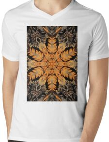 Pine needles in a conflagration of rusting shape Mens V-Neck T-Shirt