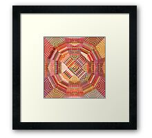 Dots And Lines Framed Print